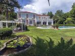 Luxurious villa with private pool and garden
