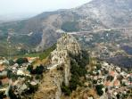 Klis Fortress-the videotaped Game of Thrones-3 km of apartment