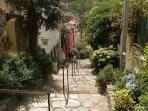 Banyuls, ruelle en escalier