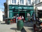 Ellis Park bar in St Jean d' Angely, delightful town 20 mins away