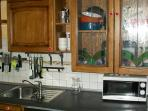 fully equipped kitchen - cucina accessoriata