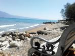 Beach front within walking distance - approx 150 metres