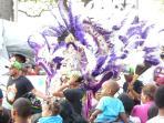 Exotic street carnivals
