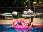 Enjoy the private pool with family and friends