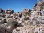 The amazing El Torcal. Only a ten minute drive away.