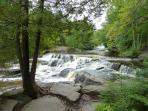 Many rivers to canoe, fish, sitesee