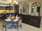 Master Suite Dining Area for 4