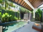 Refreshing swimming pool