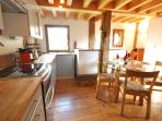 The fully equipped kitchen offers everything you could need
