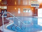 LOVELY INDOOR HEATED SWIMMING POOL  AND SAUNA