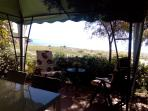 Terrace ready for the aperitivo!!