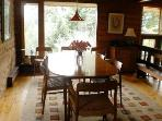 The dining room at the Frances Louis House in Port Joli Nova scotia