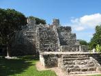 Mayan Ruin nearby
