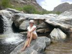 GUEST CAM Sabino Canyon Waterfalls. Take the tram up and enjoy the natural pools among the saguaros.
