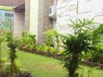 Large garden complex is serene, quiet, and secure yet situated right in the heart of Kuta.