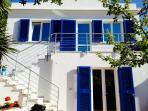 scala entrata casa Villa Cote  Alta