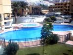 Its is the pool 1 in the middle of the complex