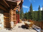 Expansive Deck with Peaceful Surroundings