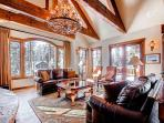 This Custom Built Home Provides Unique Amenities and Excellent Views!