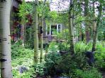 French Garden Corner