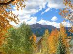 Stunning views from the Historic District of Breck