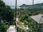 Stairs to Cashew villas