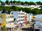 Take a Ferry to Mackinaw Island - you don't want to miss this trip! 30 minutes away