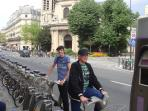 Get around by Velib - a fun way to explore the city
