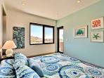 Top Floor King Bedroom with Ensuite Bath, Ocean View and Patio Access