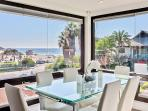 Top Floor Dining area with Ocean View and seating for 6