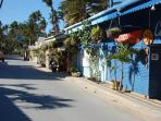 Las Terrenas Town a short ride away.  Visit Fishermans Village for fresh catch of the day!
