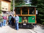 Wallace Trolley to Mine Tour