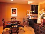 Western Suite Dining Area.