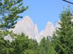 dolomiti di Brenta veduta dal monte Pradel