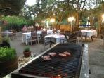 grill at castle hermitage restaurant