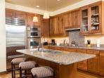 524 Lower Snow King Kitchen