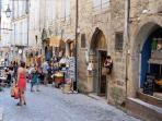 Pezenas old streets