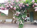 il portico sul giardino