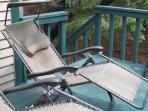 Zero Gravity Chairs on Deck