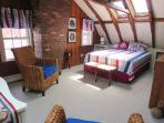 Shades being added to skylights over bed for late morning sleeping while on vacation. - 51 Eliphamets Lane Chatham...