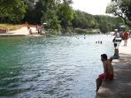 Beautiful Spring Fed BArton Springs