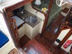 main cabin as you go inn