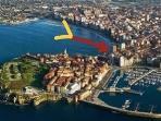 UBICACION en la zona clave de Gijón