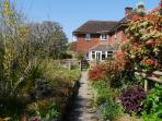 Main house in a lovely rural village within easy reach of Lymington, Beaulieu and Brockenhurst.