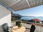 Apartments Kisic - Two-Bedroom Apartment with Balcony and Sea View