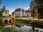 8 bedroom Chateau in Saint-Loup-Lamaire, Nouvelle-Aquitaine, France : ref 504977