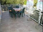 Zeljka (4+2): terrace