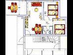 A4(4+3): floor plan