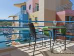 Balcony with Marina View
