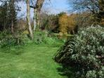 View of our own extensive gardens, open to visitors